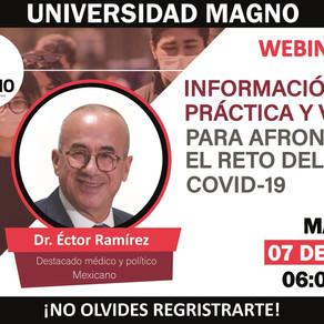 Universidad Magno / Webinar: Información práctica y veraz para afrontar el reto del COVID-19