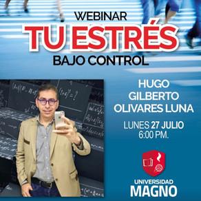 Universidad Magno / Webinar: Tu estrés bajo control