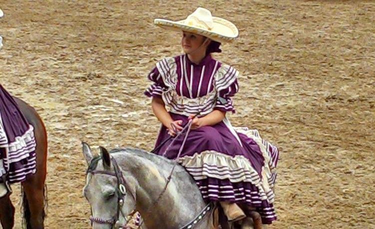 Fernanda y Caballo 1