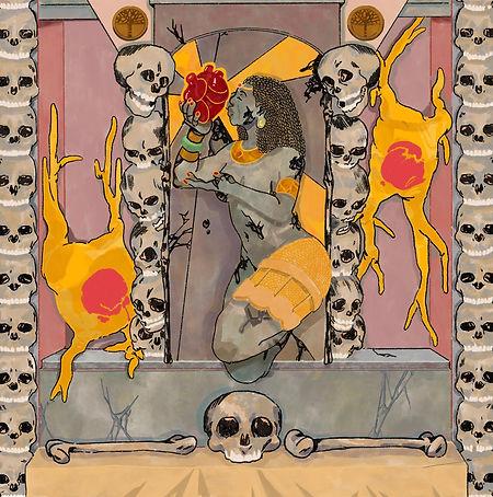Ebony Eternal (Cover Art by Kimani Reid)