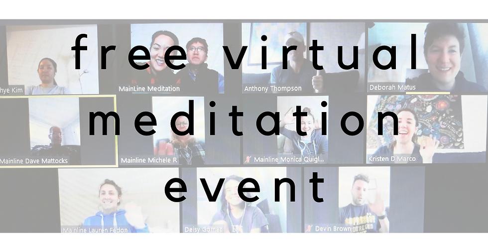 Free Meditation Event