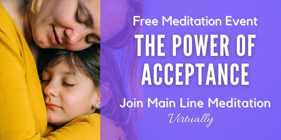 Free Online Meditation: The Power of Acceptance