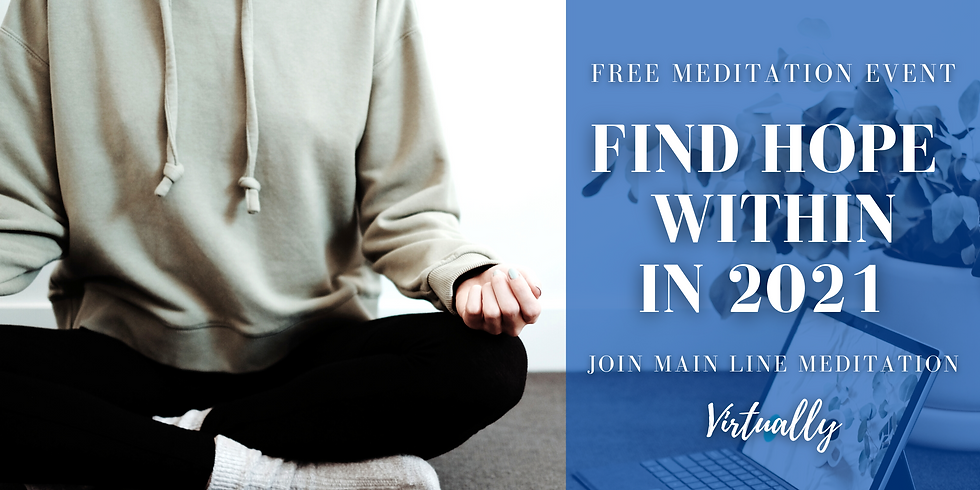 Free Online Meditation Event: Find Hope Within in 2021
