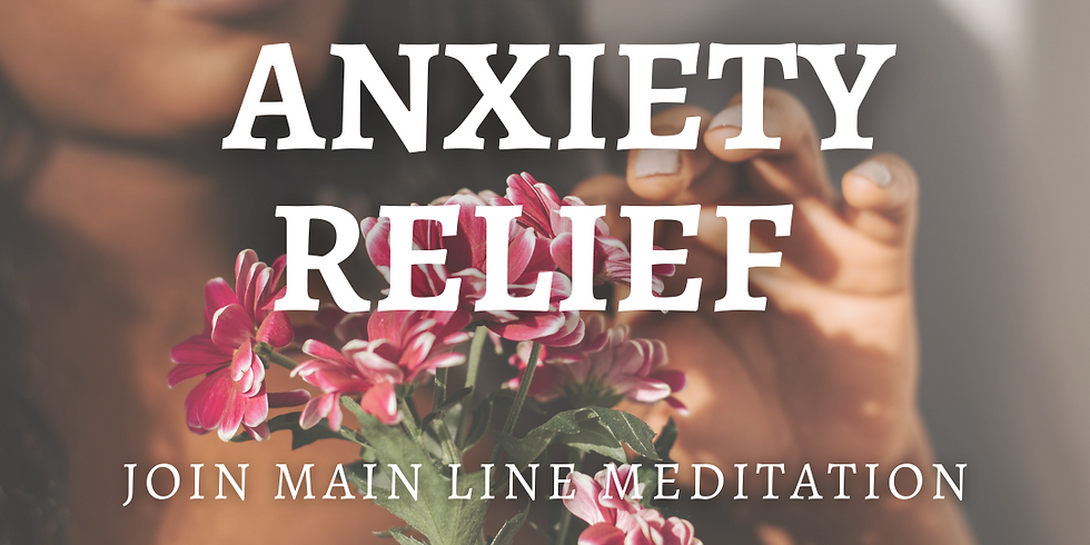 Free Online Meditation: Anxiety Relief