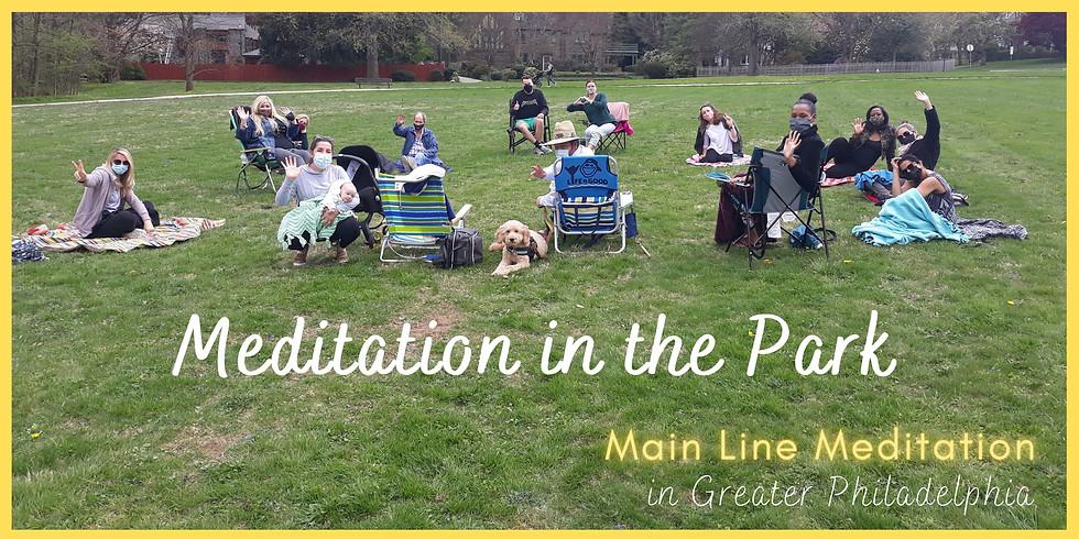 Meditation in the Park - Ashbridge Park, Bryn Mawr