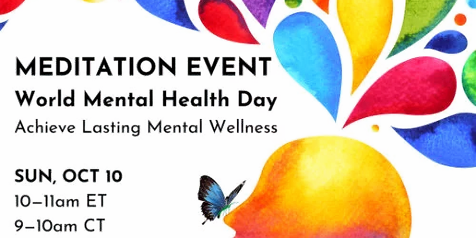 World Mental Health Day Special Event