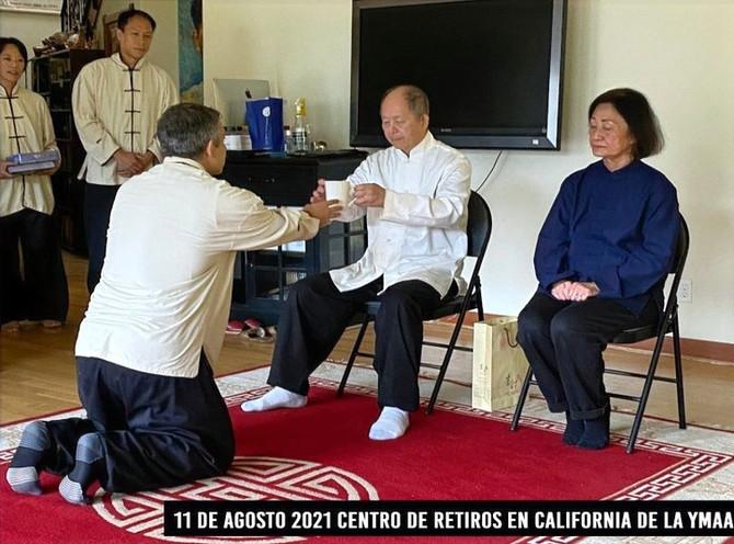 Dr.Yang nombró discípulo a Daniel Chadud