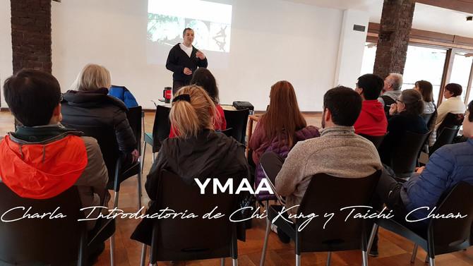Charla Introduccion Teórica Taichi Chuan YMAA Chile (sábado 18 de Agosto)