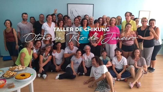 Taller de Chikung para el otoño en Río de Janeiro