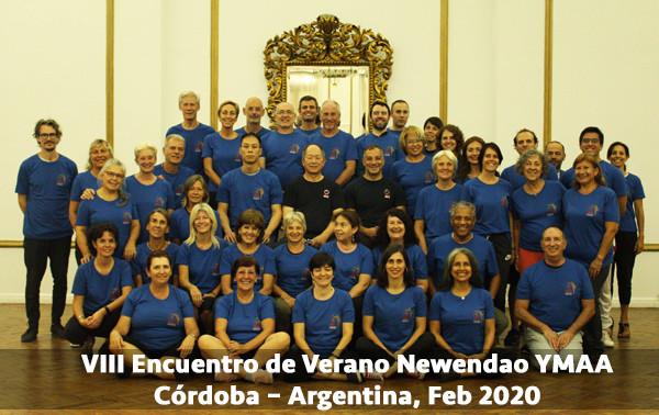 VIII Encuentro de Verano Newendao YMAA LAT   Córdoba – Argentina, Feb 2020
