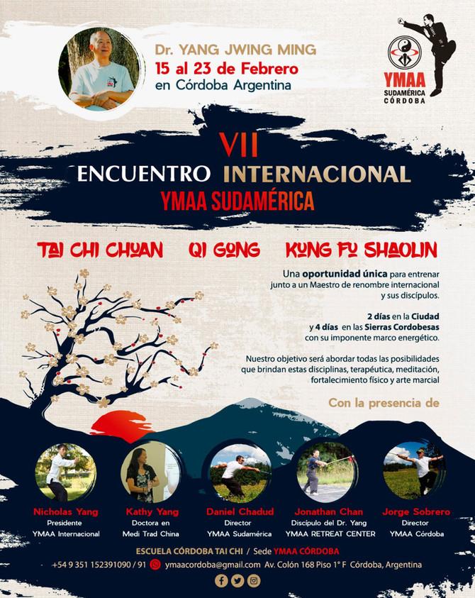 VII ENCUENTRO INTERNACIONAL YMAA SUDAMÉRICA CÓRDOBA - ARGENTINA