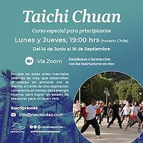 Taichi via Zoom Junio Setptiembre 2021