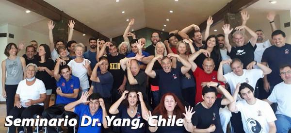 Seminario Dr.Yang, Jwing-Ming en Chile 29 de Febrero 2020