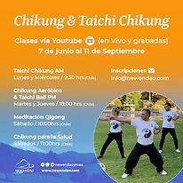 Taichi Chikung por Youtube Junio 2021