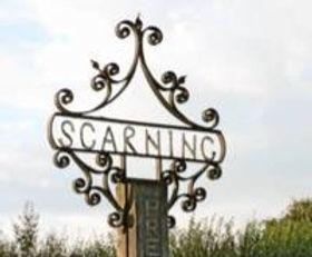 Scarning Village Sign