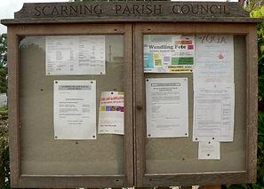 Parish Council Noticeboard