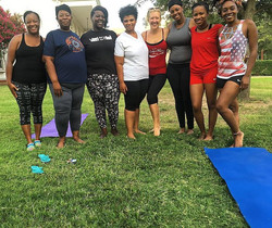 Happy National Yoga Day! What better way to celebrate Than with these beautiful ladies! __#nationaly
