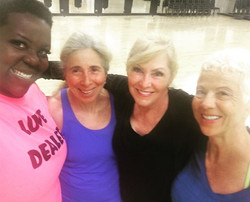A few Pretty ladies from class this morning! __#yogajournalconference _#yogadoesabodygood_www.yogand
