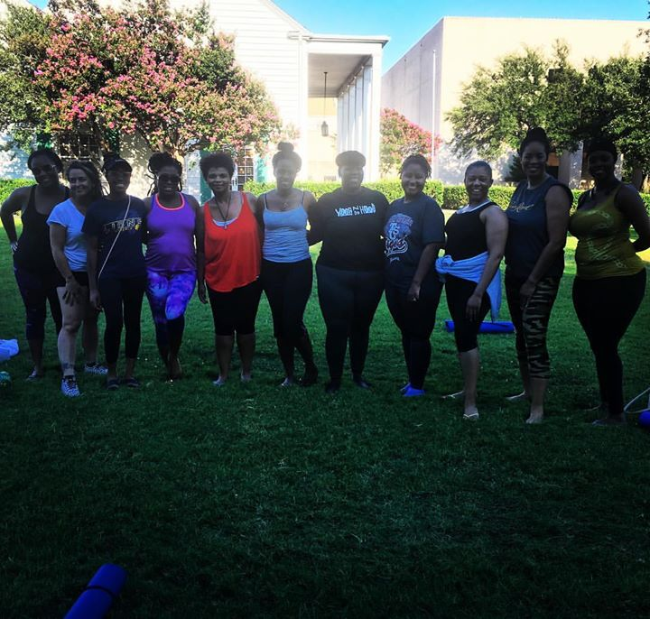 What an amazing class! Thank you all for coming out and practicing with me! __www.yogandahood