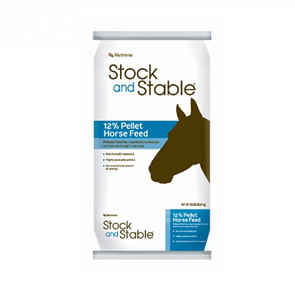 Stock & Stable 12% Pellets