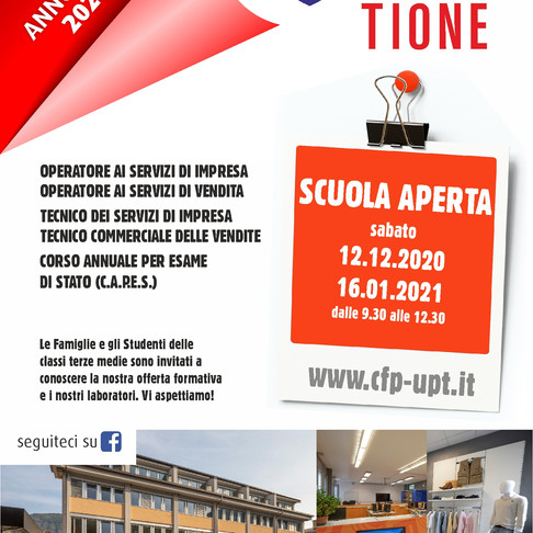 TIONE - SCUOLE APERTE - SAVE THE DATE!