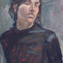 Figure Study (Self-Portrait)