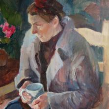 Lara in the Studio