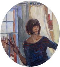 Oval Self-Portrait