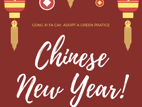 8 Ways to a Greener Chinese New Year 2020