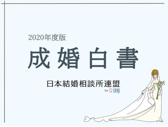 IBJの2020年度版成婚白書