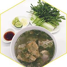 Hủ tiếu nước chay | Vegetarian noodles soup