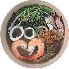 Bún Mắm | Fermented Fish Vermicelli Soup