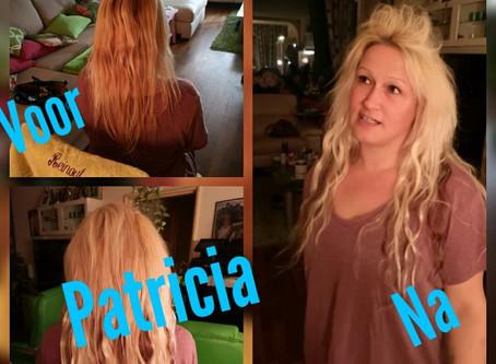 Meer Volume ? Ja hoor dat kan! Meet awesome Patricia !Meer volume met maar 60 stuks extensions wavy