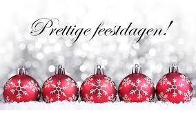 Wij wensen U fijne feestdagen!