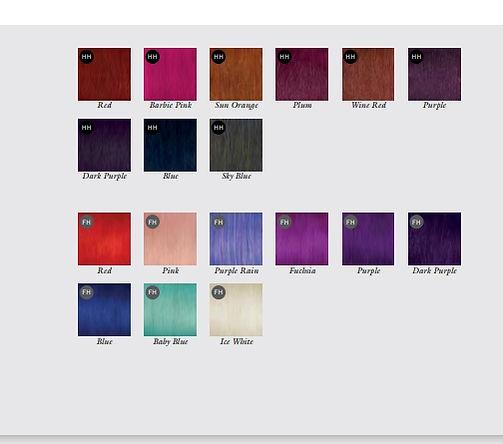 Balmain kleuren Fantasy colors.jpg