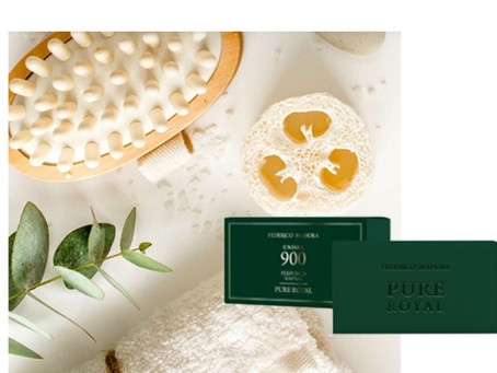 Perfumed soap bar