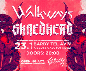 SHREDHEAD x WALKWAYS CO-HEADLINE