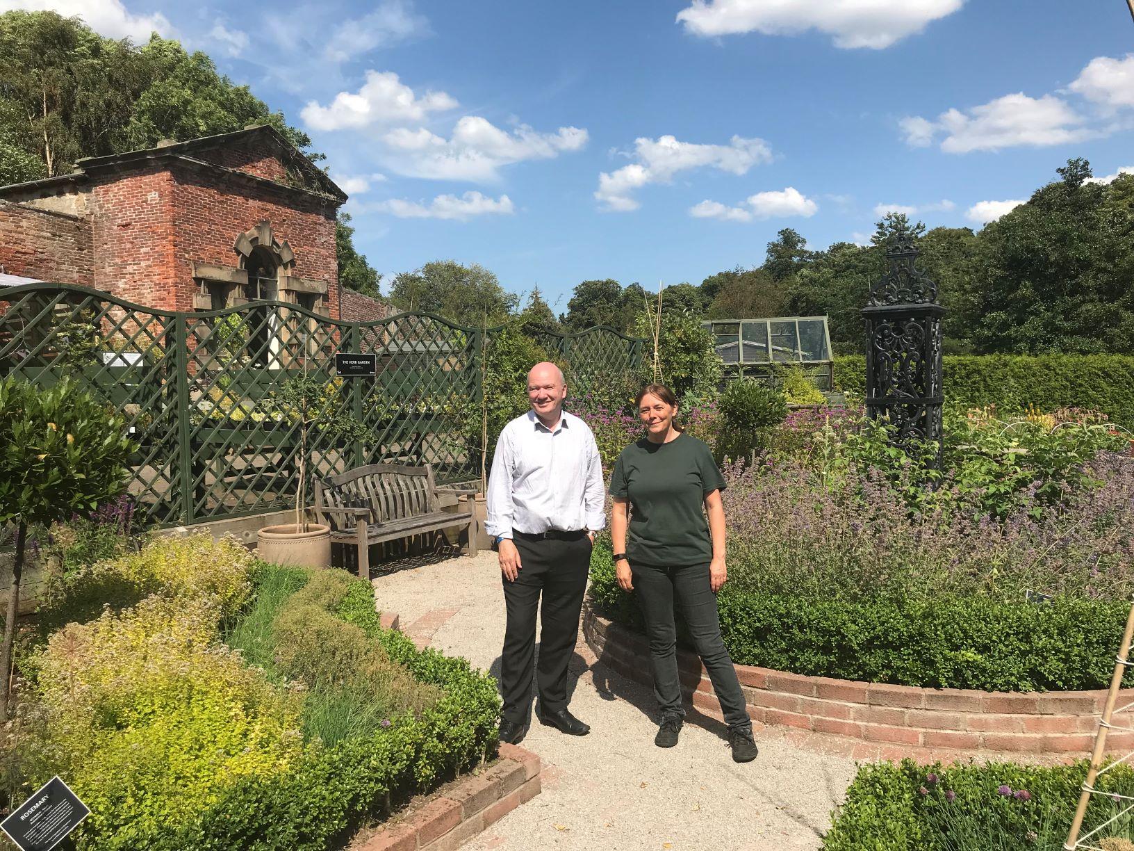 SAMH Redhall Walled Garden