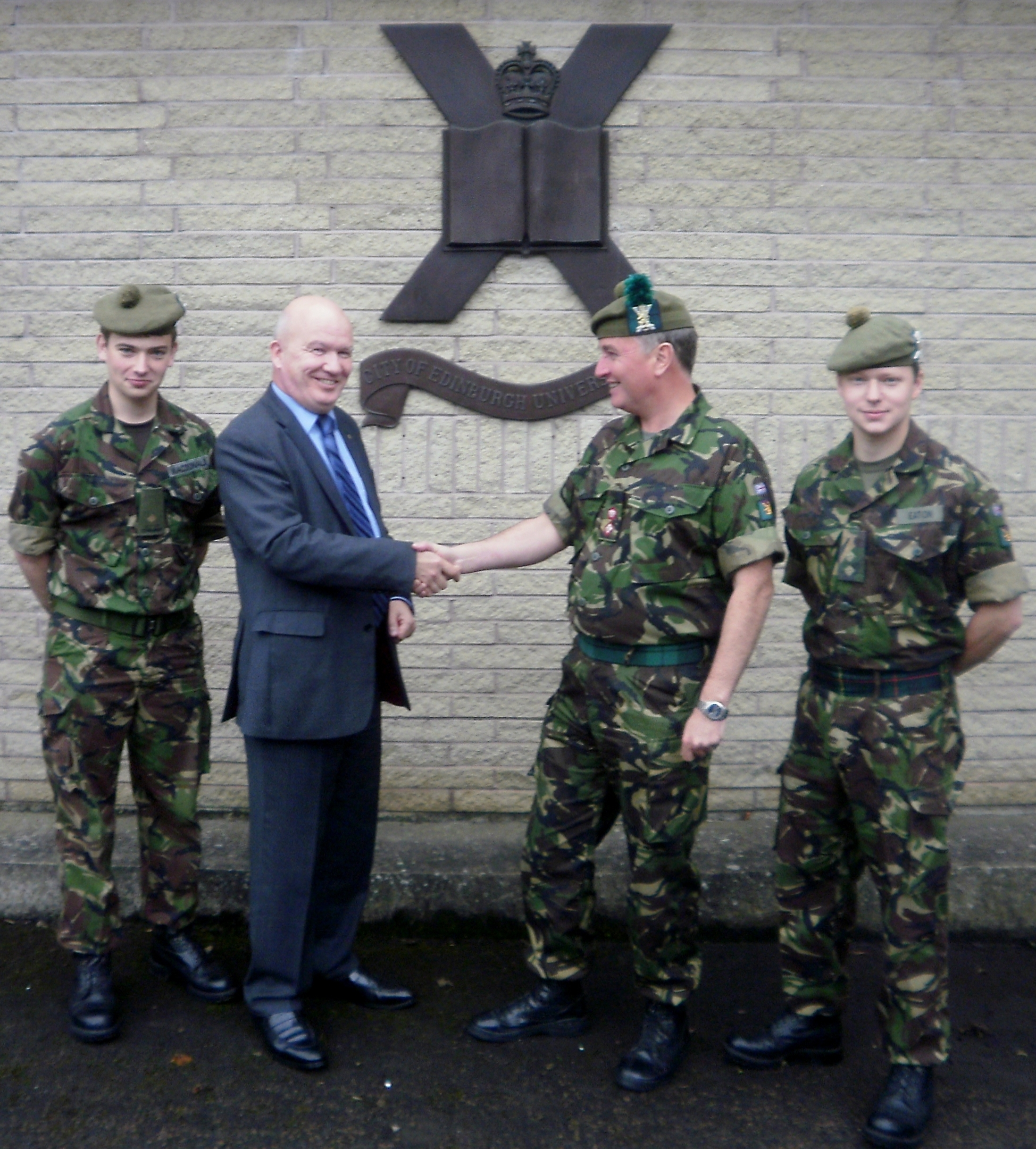 CEUOTC at Redford Barracks