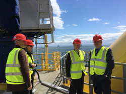 Visiting Levenmouth Wind Turbine