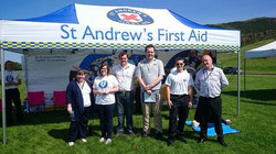 Meeting with St. Andrew's First Aid