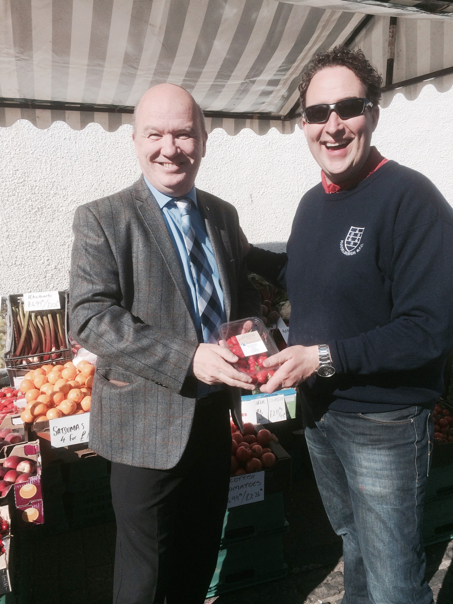 Great produce at Balerno Market