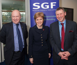 Nicola and I attend SGF Conference