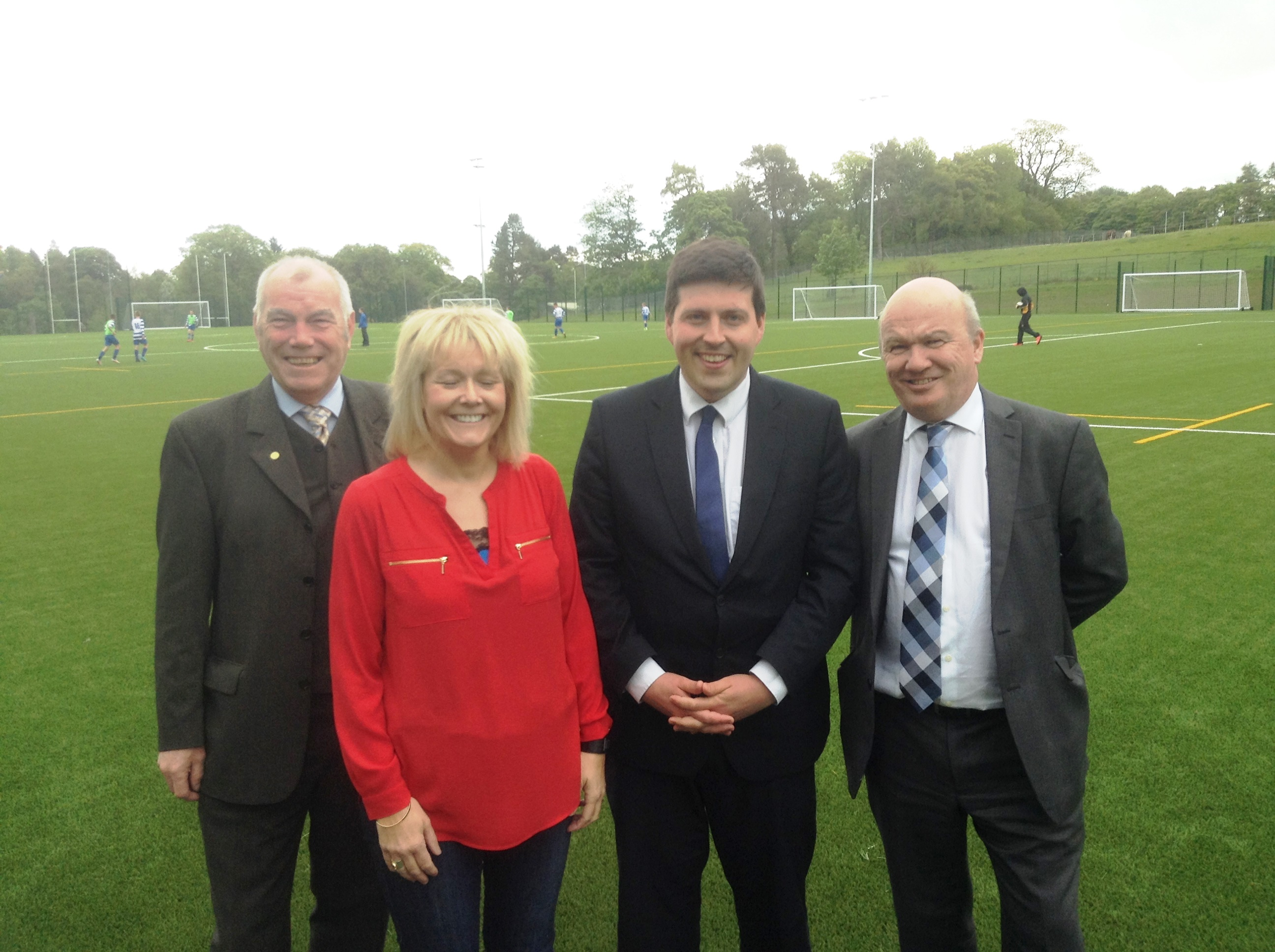 Opening of 3G pitch at Balerno