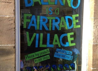Gordon highlights Balerno Fairtrade