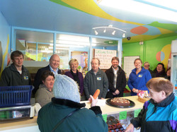 Opening of Broomhouse shop