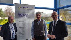 Visiting TES with John Swinney