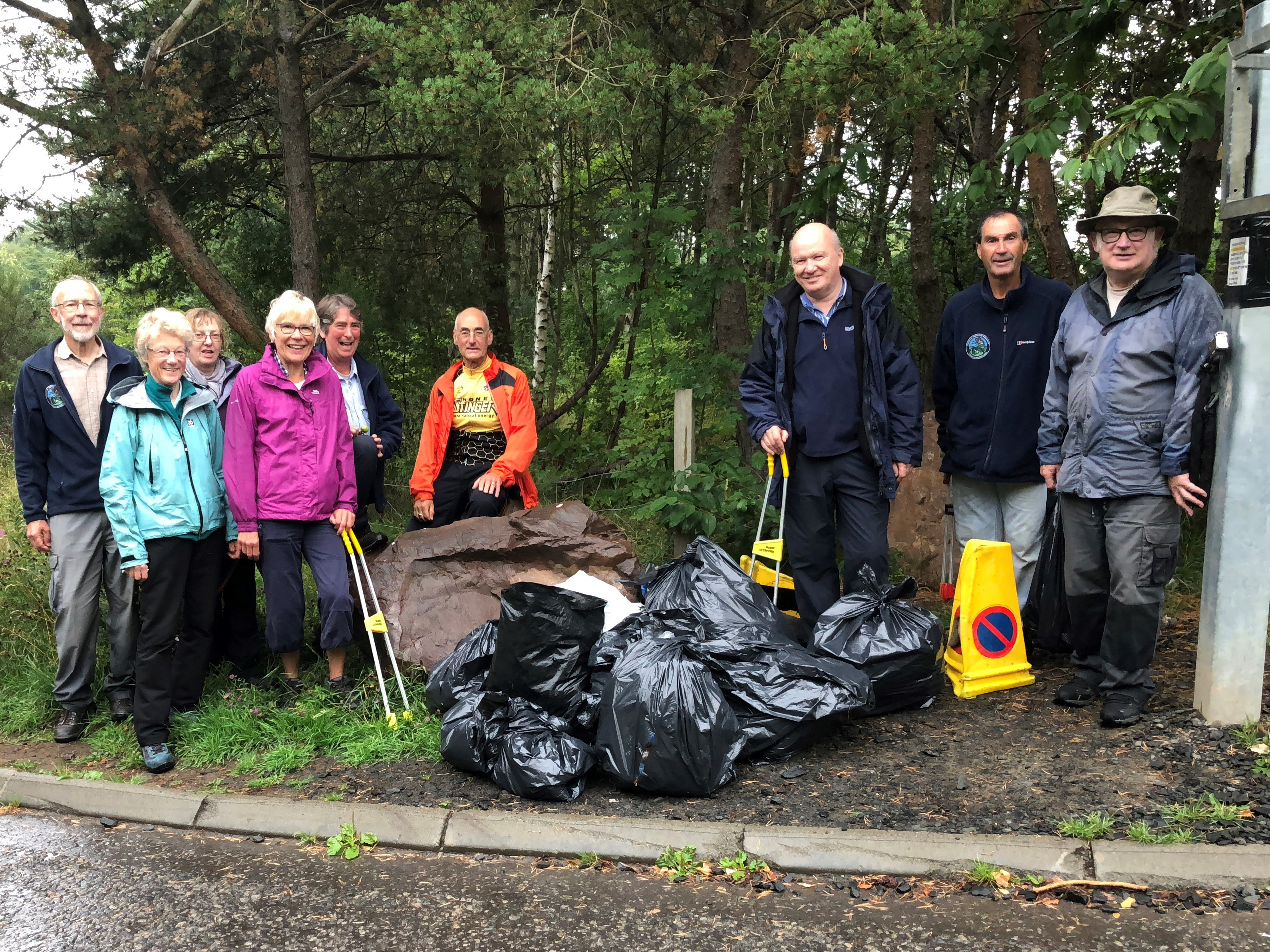 Friends of the Pentlands litter pick