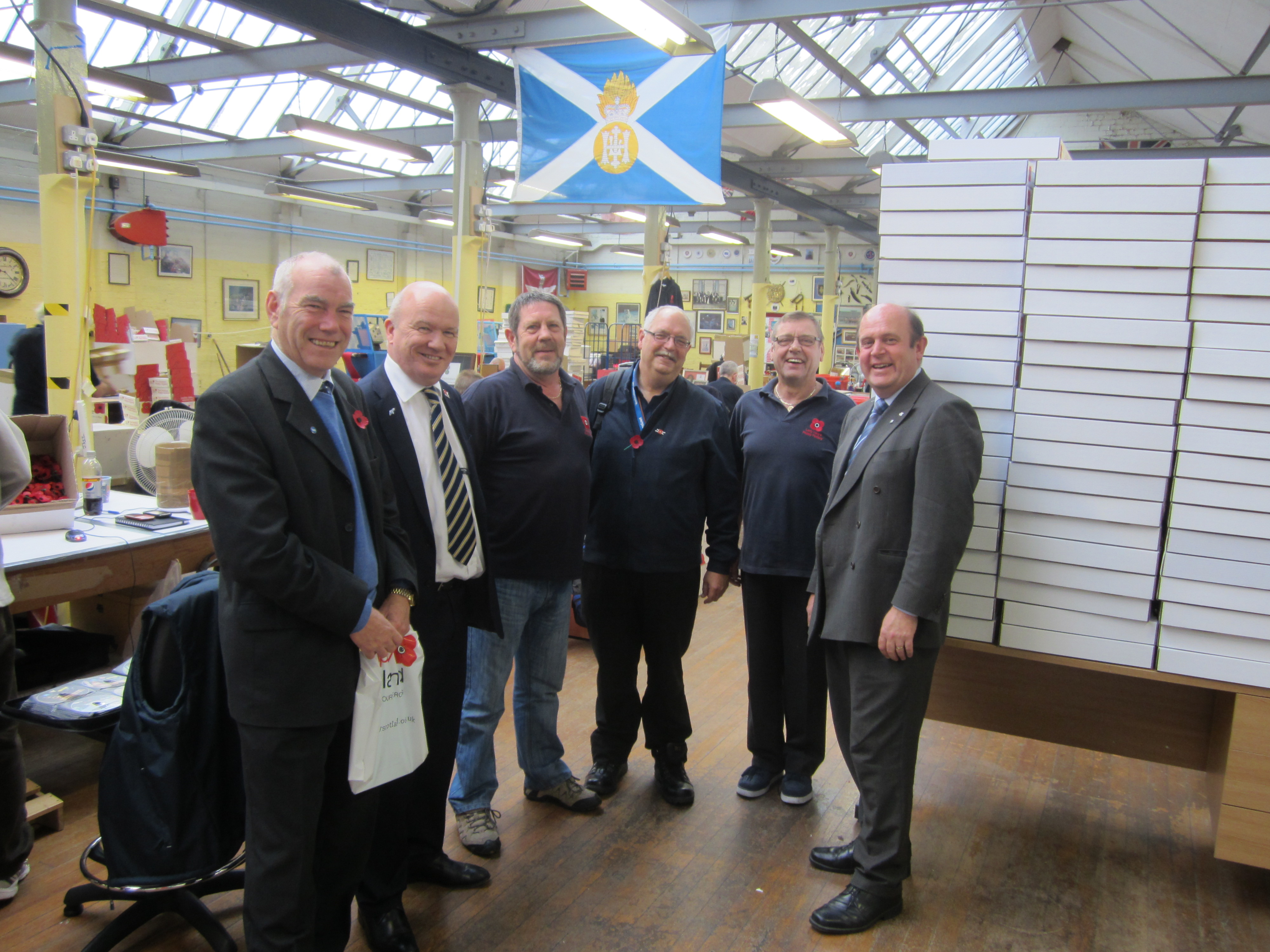 Poppy Scotland Visit