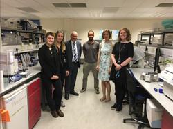 interesting tour of Alzheimer labs